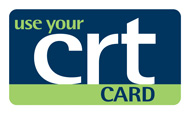 We Accept CRT Card