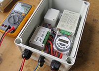 Solar light controller Repeater